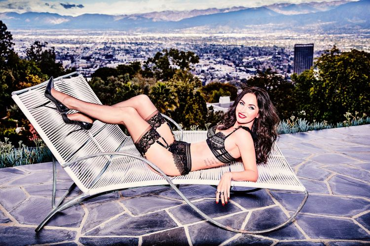 Megan Fox Posed In Lingerie 5 Months After Her Baby Was Born