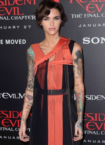 Ruby Rose Did Not Like Katy Perry's 'Swish Swish' Song