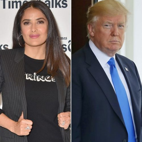 Donald Trump Asked Salma Hayek On A Date Once
