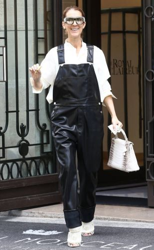 Celine Dion's Paris Look