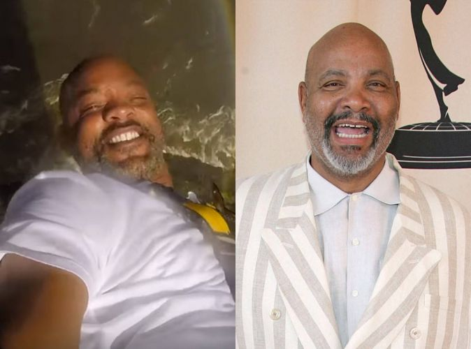 Will Smith Reacts to Viral Uncle Phil Comparison Photo