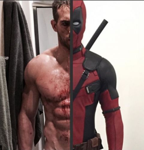 See Ryan Reynolds In And Out Of His Iconic Red Suit