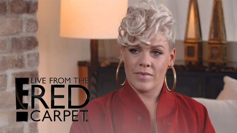Pink commented on the scandal with Harvey Weinstein