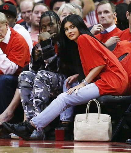Kylie Jenner And Travis Scott Take A Trip To Houston