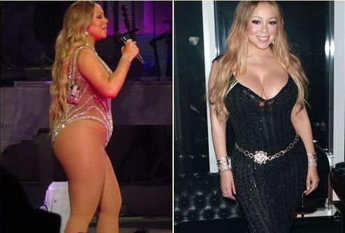 Mariah Carey lost weight
