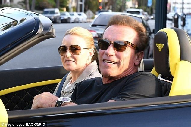 70-year-old Arnold Schwarzenegger came out with a 43-year-old sweetheart
