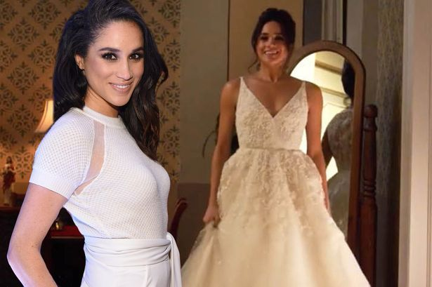 Meghan Markle choose several outfits for the wedding