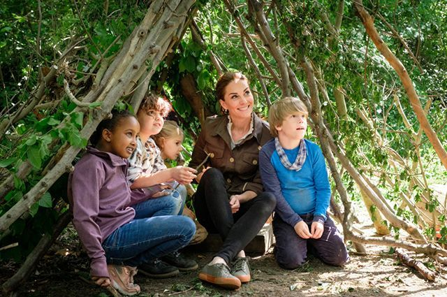 Kate Middleton appeared on Blue Peter TV show