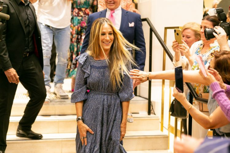 Sarah Jessica Parker subdued fans in a new way