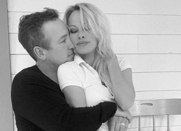 Pamela Anderson and her guardian husband gave their first interview together